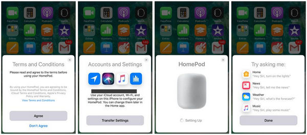 Set Up HomePod