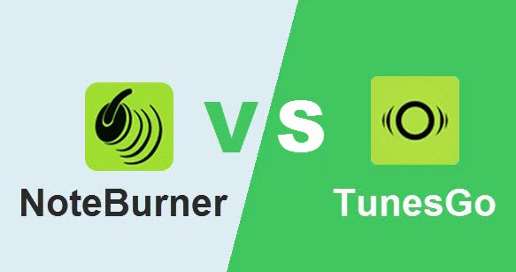 NoteBurner VS TunesGo