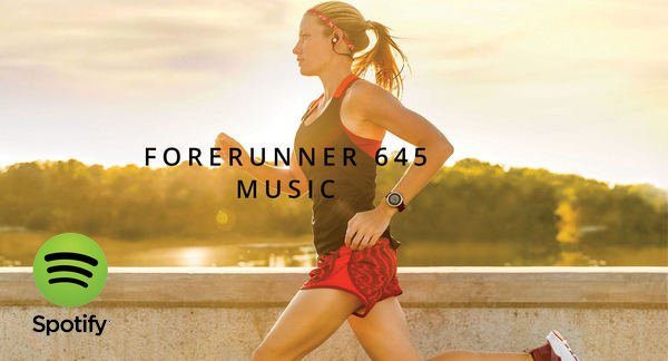 Play Spotify Music on Garmin Forerunner 645 Music